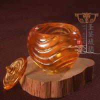 佛教用品七色圣物琉璃供水杯供佛杯轮回净水杯圣水杯