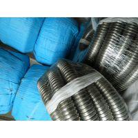 PVC包塑不锈钢软管,黑色防火阻燃聚氯乙烯蛇皮管包头、新疆供货
