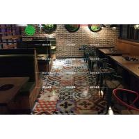 工业风主题餐厅时尚涮烤一体餐桌 主题烧烤桌椅 深圳多多乐家具田园涮烤桌