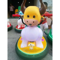 跑马灯发光碰碰车广场游乐设备儿童玩具电瓶车公园摆摊车