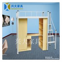 东莞兴大家具供应学生公寓床宿舍公寓床木柜铁床上下铺