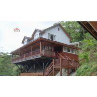 领秀木屋专业设计生产各类现代高档景区轻型度假木屋别墅