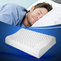 批发进口泰国乳胶枕按摩颗粒枕保健枕头颈椎枕护颈枕