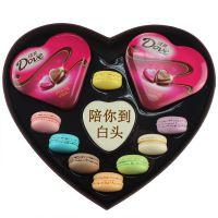 代理马卡龙情人节创意手工甜点西式糕点生日礼物德芙巧克力M004