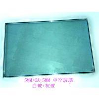 东莞晶达玻璃厂直供门窗中空钢化玻璃白玻+灰玻5+6A +5加工定做