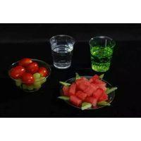 健康环保一次性航空水晶餐具