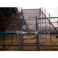 大型户外攀岩网 体能乐园 设备 金豪游乐厂家供应 儿童户外游乐