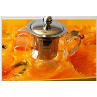 供应玻璃水果茶 茶壶 精美