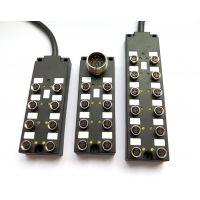 IO总线模块,M8-12位分线盒,M8-12口分配器