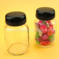 保健品瓶 胶囊瓶 粉末茶花透明玻璃瓶 化妆品包材 现货批发 sy 用途 其他