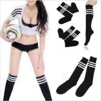 Sport Over Knee Pure Cotton Soccer Socks