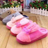 2016冬季新品棉拖鞋 成人、儿童款拖鞋 厂家低价直销