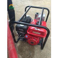 润华汽油燃料型抽水泵 园林绿化抽水泵 多功能汽油灌溉泵