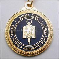Zinc Alloy Die Casting Gold Metal Medal