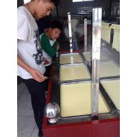 不锈钢腐竹油皮机 豆制品加工设备 宏运来腐竹油皮加工