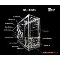 批发透明有机玻璃机箱 高档亚克力电脑机箱