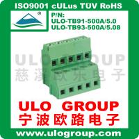 供应螺钉式接线端子 500A-5.0/5.08 厂家直销 宁波欧路电子 ULO