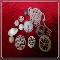 供应置顺陶瓷塑料八四内弧环 塑料环保填料化工填料PVDF填料黑色填料麦勒环
