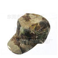 外贸迷彩平顶帽 迷彩鸭舌帽定做 野外运动军训帽迷彩 时尚丛林帽