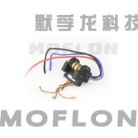 MW2330 小型风电滑环 碳刷结构而非电刷,峰值电流可达50A