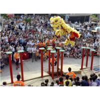 广州舞狮表演|广州高杆采青表演|广州梅花桩舞狮表演