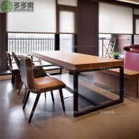 厂家直销奶茶餐桌椅 田园咖啡餐厅桌椅饭店 酒店桌椅配套 多多乐家具