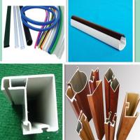 pvc型材挤出生产线 塑料型材挤出生产设备 pvc挤出机生产厂家