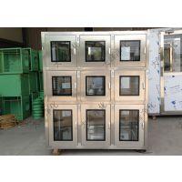 连体传递窗 钢板烤漆传递窗传递窗定做 自净式传递箱 净化传递窗