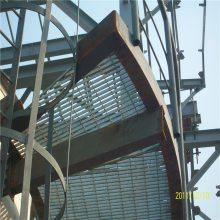 船厂钢格板 钢厂钢板网 平台踏步板