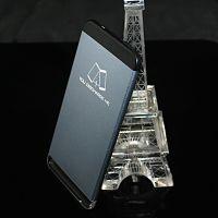水晶充电宝 亚克力彩色发亮移动电源 企业定制高档电子礼品