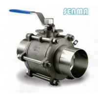 SENMA卫生级三片式焊接球阀