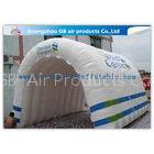 Customizable White Inflatable Portable Spray Booth Tent Quadruple Sewing With Printing