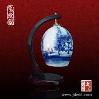 景德镇陶瓷灯具价格,陶瓷台灯批发(图)唐龙陶瓷