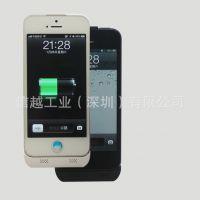 供应iphone5S背夹电池 苹果5C背夹电源 移动电源 充电宝 苹果5三合一