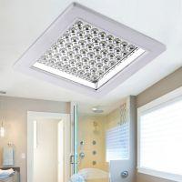 暗装LED方形厨卫灯吸顶灯 厨房卫浴灯卫生间天花嵌入灯 新品批发