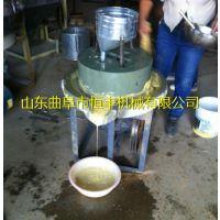 恒丰加工不同型号手工电动石磨机 商用早餐店必备豆浆石磨机