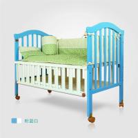 型号:MZSK-699 供应婴儿床 童床 纯实木无甲醛 带蚊帐