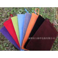 大量销售 绒布束口袋 简易包装布袋 优质绒布袋批发收纳袋化妆品袋物流袋环保袋