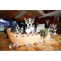 船型景观装饰 室内装饰船 装饰木船