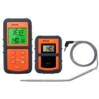 美国thermopro TP07远程无线数字厨房烹饪食品肉类温度计与烧烤吸烟者烧烤炉定时器