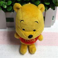 毛绒玩具挂件动漫公仔维尼熊精美礼品吊饰可定制批发