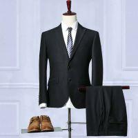 昆明普通男士西服中小企业职业套装定做