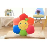 Wholesales  Multi-Functional Sunflower Cushion Pillow, Spandex Super Soft Fabric, High-grade Down Cotton Filling! Feel Very Soft,  Home Decoration