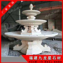 天然石头水钵雕刻 酒店流水景观雕塑 景观石材水钵生产厂家