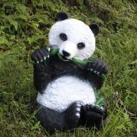 现货批发 国宝大熊猫摆件 户外摆件 仿真熊猫摆件 园林用品wg-006