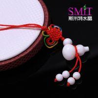 DIY手工饰品材料纯天然白砗磲 小葫芦吊坠挂件 中国结手机坠批发