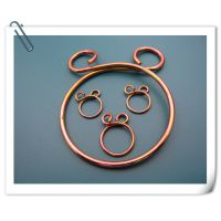 供应塑胶管、橡胶管夹簧 形状有圆耳朵、兔子耳朵