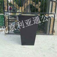 北京利亚通厂家定制玻璃钢酒店花盆景观园林花钵商场广场街道绿化花箱