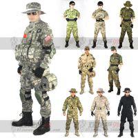 SWAT作战服特种兵迷彩服套装 男美军作训服保安服军训服厂家批发