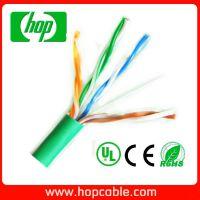 常规优质通信线缆 CAT5E低烟无卤网线  UTP铜包银  0.51mm